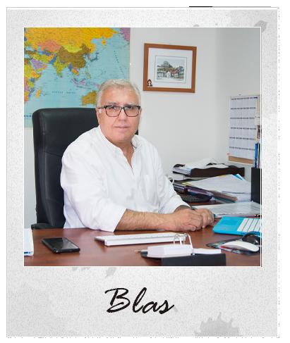 Blas. Director Mundispaint TOur