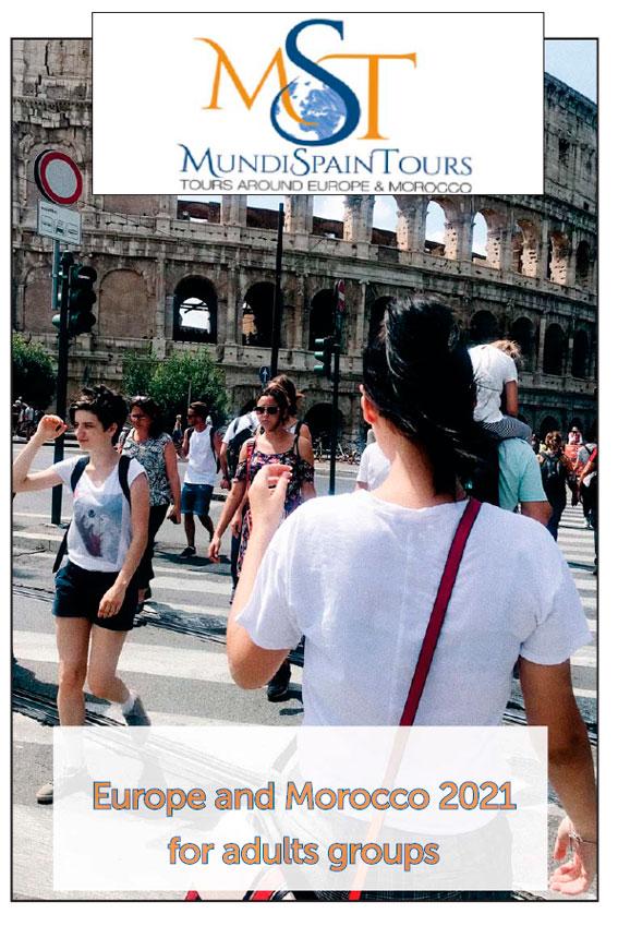 Brochure Europe and Morroco TRavel