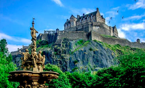 Travel to Edimburgo