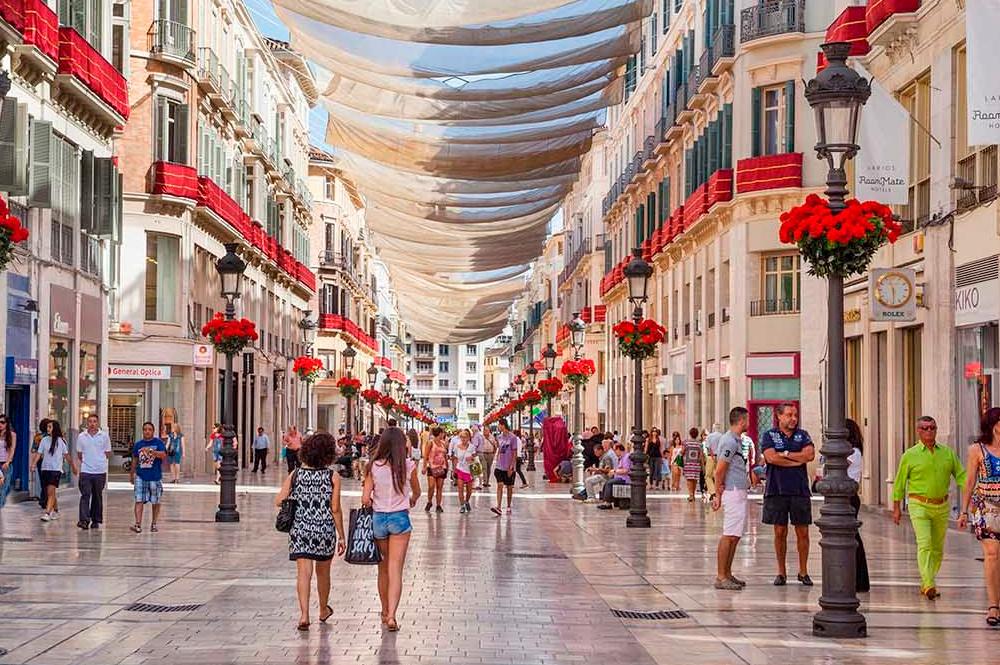 Larios Street. Malaga